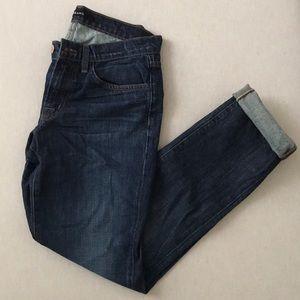 J Brand Logan Hung Up Boyfriend Cuff Jeans